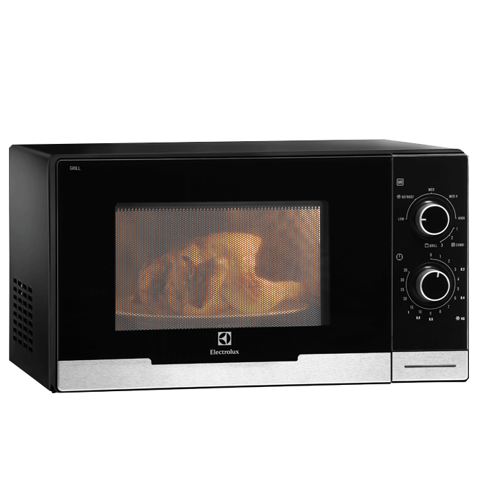 Electrolux Emm2318x 23l Table Top Microwave With Grill